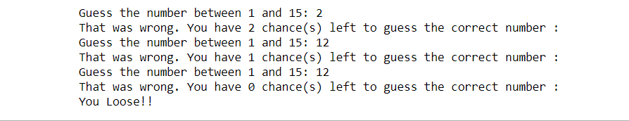 python games for beginners guess the number